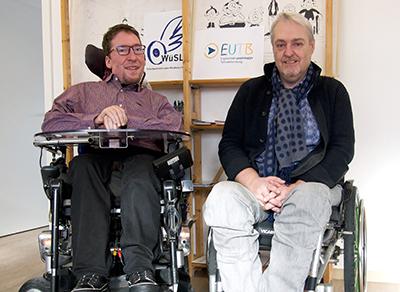Porträts: Julian Wendel und Michael Gerr