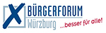 Logo - Bürgerforum Würzburg